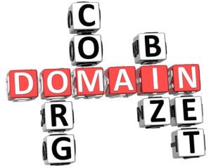 Generične domenske končnice