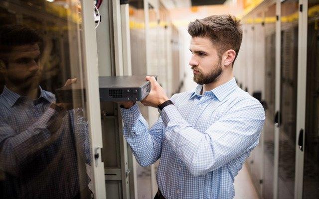 Strežnik v podatkovnem centru